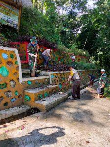 Kodim 1615/Lotim All Out Dukung Program Kampung Sehat