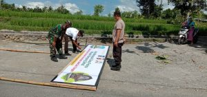 Menuju New Normal, Kodim 1620/Loteng Kerahkan Babinsa Dorong Sukseskan Lomba Kampung Sehat
