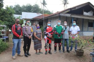Pantau Situasi Kamtibmas, Kapolres Sergai Sambangi Warga Mengalami Musibah Kebakaran Rumah