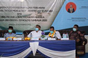 Mantap! Pemdes Labuhan Burung dan Mahasiswa UTS Gelar Seminar Bahas potensi pertanian dan perikanan