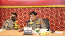 Polda Banten Terima Kunjungan Tim Was Ops Mabes Polri