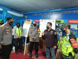 308 kendaraan Pemudik di Putar Balikkan oleh Polda Banten
