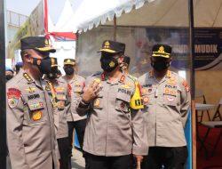 Pastikan Layanan Keamanan Di Banten, Irwasum Polri Kunjungi Pos Pam Merak