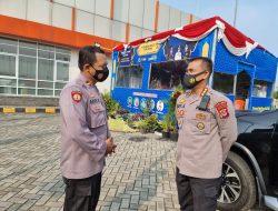 Pamatwil Serang Kunjungi Pos Pam di Cikande