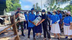 Dansatgas Pamtas Yonif 742/SWY Siap Dukung dan Berkolaborasi Berikan Bantuan Kemanusiaan