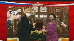 Terima Penghargaan Megawati Buka Peluang Riset Luar Angkasa Via BRIN dengan Rusia