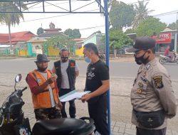 Berantas Premanisme, Polsek Jonggat Tertibkan Parkir Liar