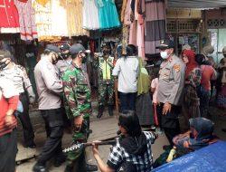 Cegah Penularan Covid-19, TNI-Polri Gelar Razia Masker