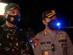 Gabungan TNI Polri Sosialisasi PPKM Mikro di Kabupaten Lombok Tengah