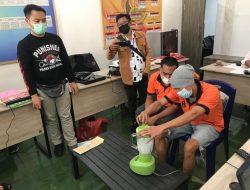 Sat Resnarkoba Polresta Mataram Musnahkan Barang Bukti.