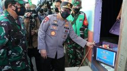 Polri Salurkan Bansos Sembako 723.773 Paket dan 3.863 Ton Beras Saat PPKM