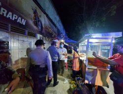 Polres lotara  Patroli Sekala Besar dan Bagi Sembako Terhadap warga Terdampak covid-19