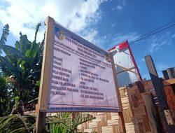 Pengerjaan Pembangunan Gedung Disdukcapil Batu Bara Diduga Gunakan Solar Subsidi