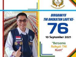 Disperkim NTB Mengucapkan Selamat Dirgahayu TNI AL – Ke 76