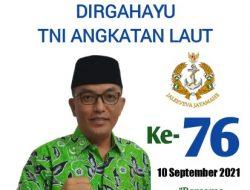PD NWDI Kab. Sumbawa Mengucapkan Selamat Dirgahayu TNI AL-76