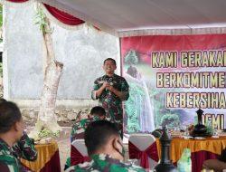 Kunjungan Kerja di Lombok, Pangdam IX/Udayana Tinjau Pompa Hidram di Desa Tete Batu Lombok Timur