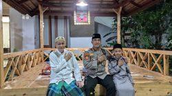 Dirpamobvit Polda Banten Sowan Sesepuh Ke Kediaman Tokoh Masyarakat K.H. Embay