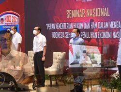 Kemenkumham Dukung Akselerasi Indonesia Hebat dan Pemulihan Ekonomi Nasional