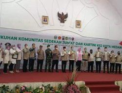 Pengukuhan Komunitas Sedekah Jum'at Kota Medan Gulirkan Visi Besar Indonesia Bersedekah